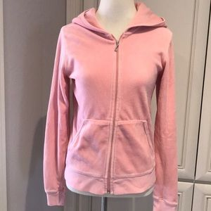 Juicy couture sweater jacket pink